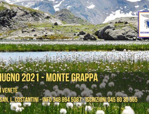 DOMENICA 27 GIUGNO 2021 – CIMA MEATTE, MONTE GRAPPA
